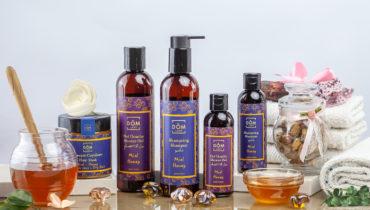 produits de beauté au miel